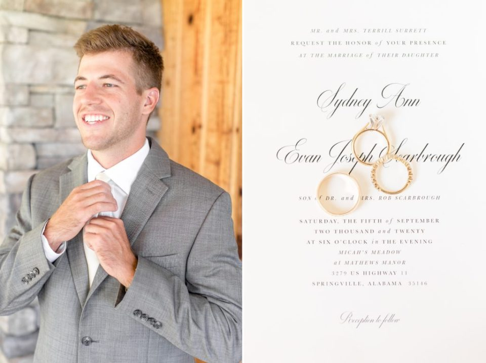 Mathew's Manor Wedding for Sydney & Evan - Birmingham, Alabama wedding photographers Katie & Alec Photography 6