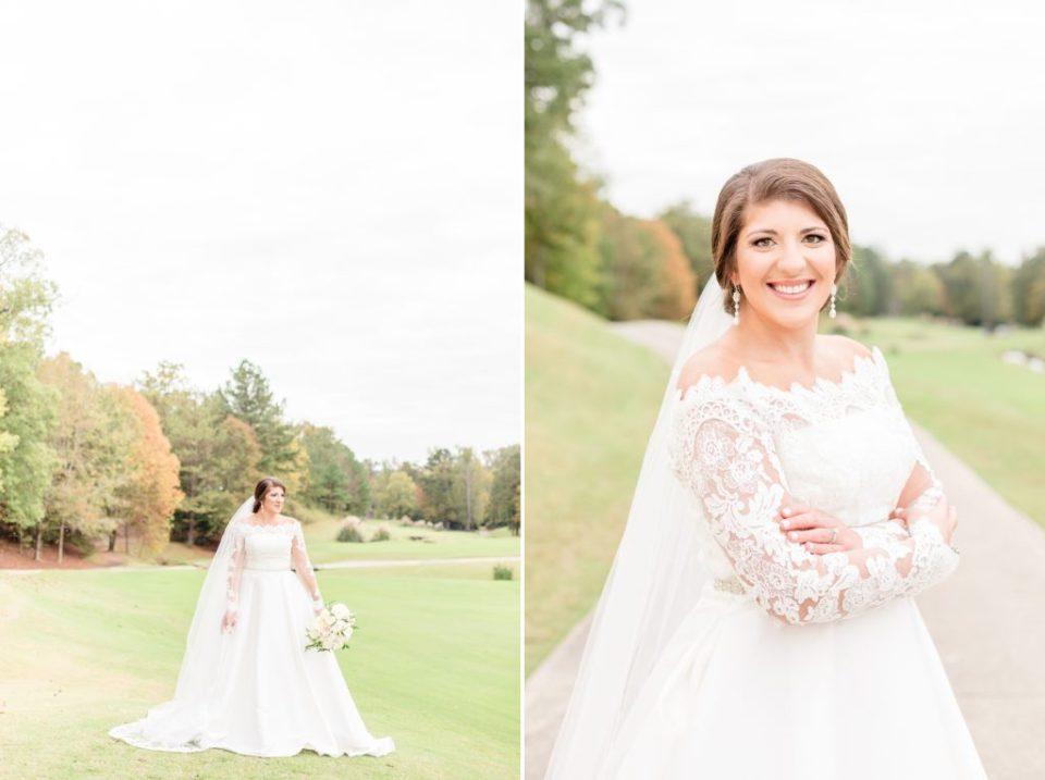 Greystone Country Club Bridal Session - Birmingham, Alabama Wedding Photographers Katie & Alec Photography
