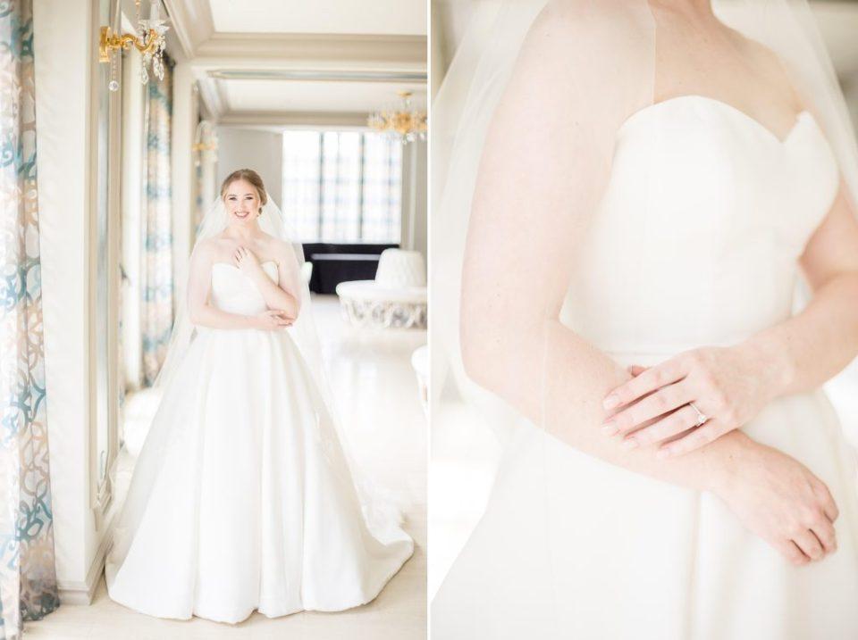 Ashley's Bridal Portraits at the Grand Bohemian in Birmingham, Alabama - Katie & Alec Photography