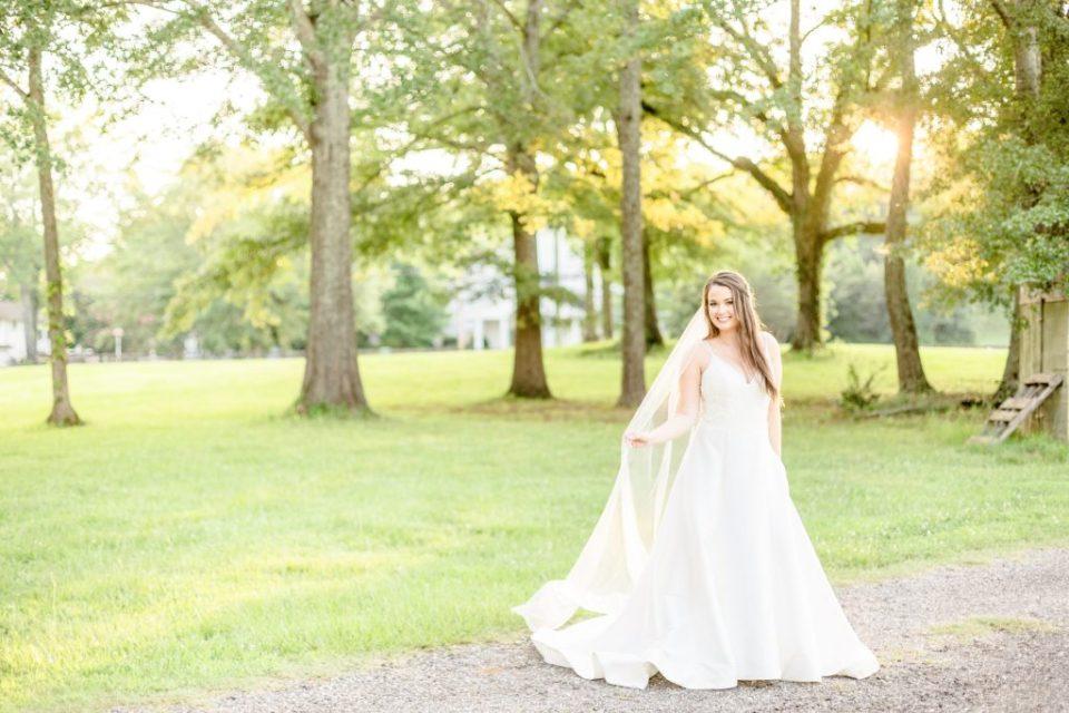 Lindsey's Bridal Session at Mathews Manor in Birmingham, Alabama