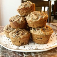 Cherry-Maple-Pecan Muffins