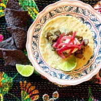 Steak Tacos With Quick-Pickled Red Onions