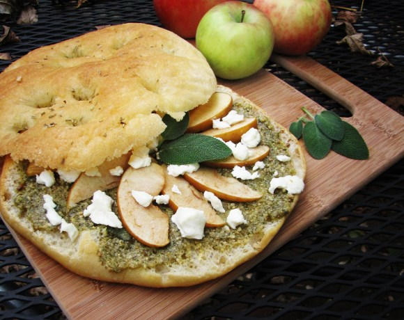 Sage Pesto, Apples, and Fall