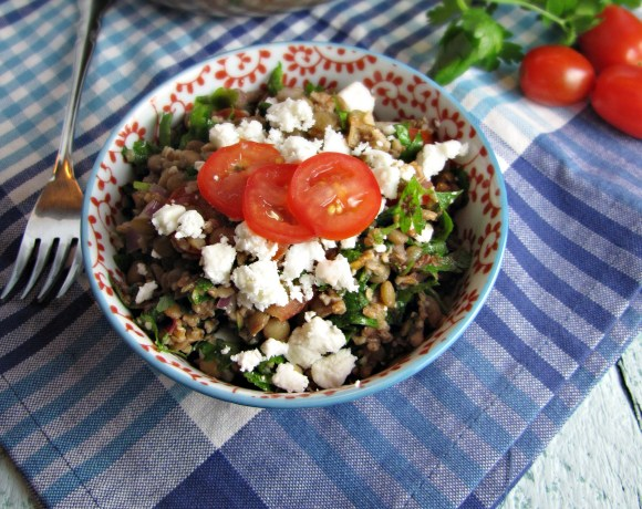 Greatist Collaboration: Feta and Lentil Tabbouleh