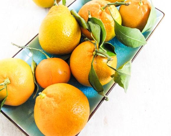 Monday Morning Resolutions & A Mango, Satsuma and Black Rice Salad