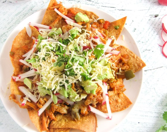 The Latin Road Home Blog-Around: Chipotle-Chicken Nachos