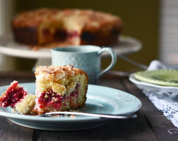Guest Post from Fork vs. Spoon: Cranberry Coffeecake