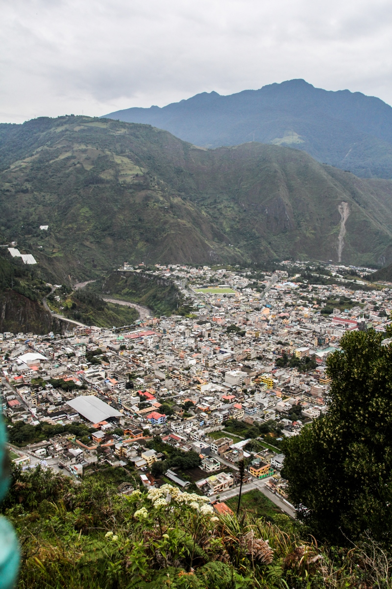 View from El Virgen, Baños, Ecuador {Katie at the Kitchen Door}