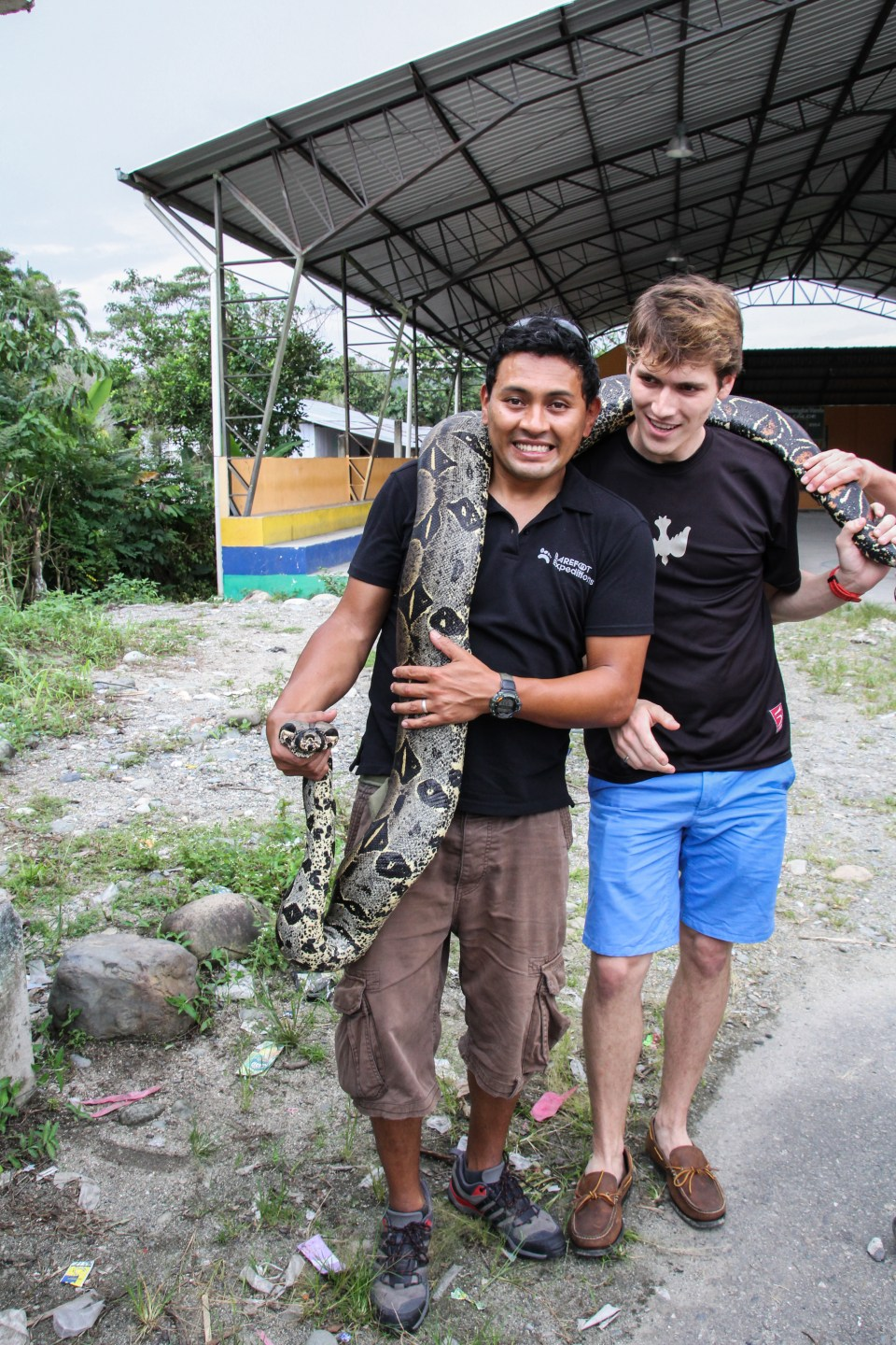 Ecuador Travelogue: The Amazon - Boa