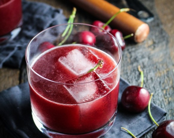 Cherry-Chocolate Bourbon Soda