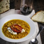 Roasted Tomato and Lentil Soup