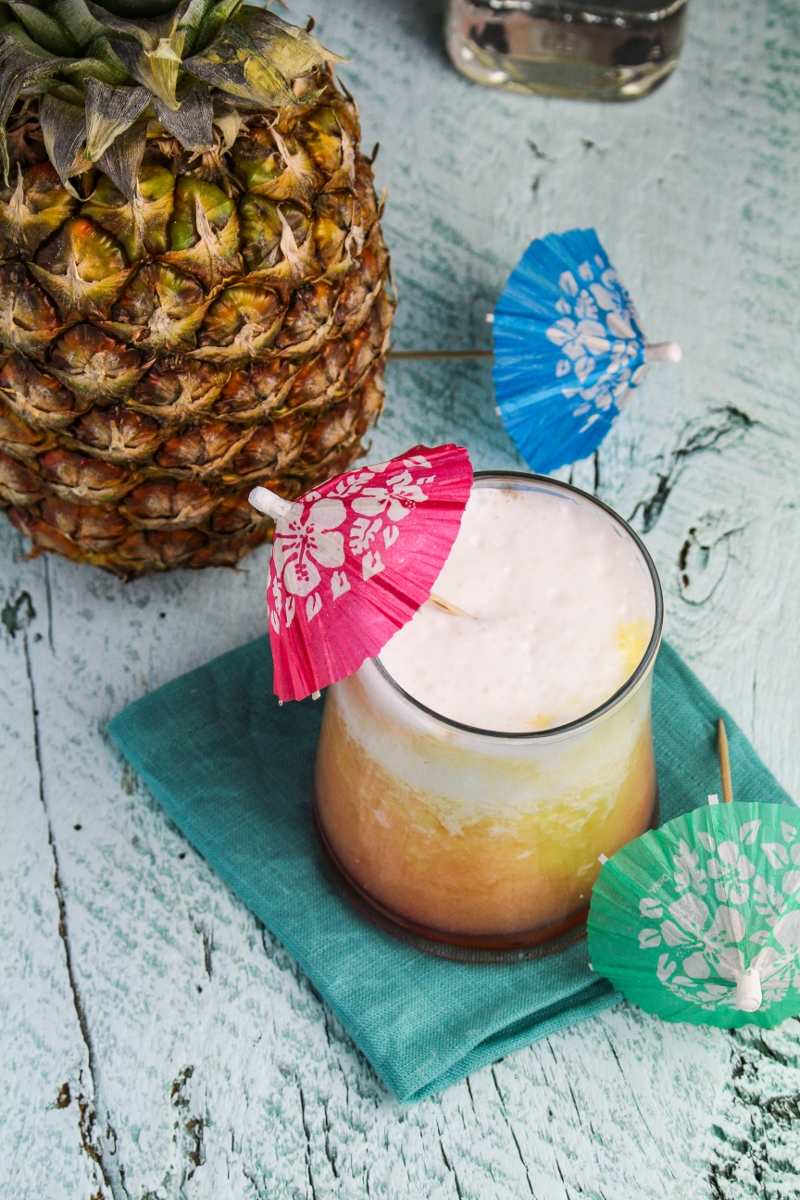 Pina Sunrise Cocktail {Katie at the Kitchen Door}
