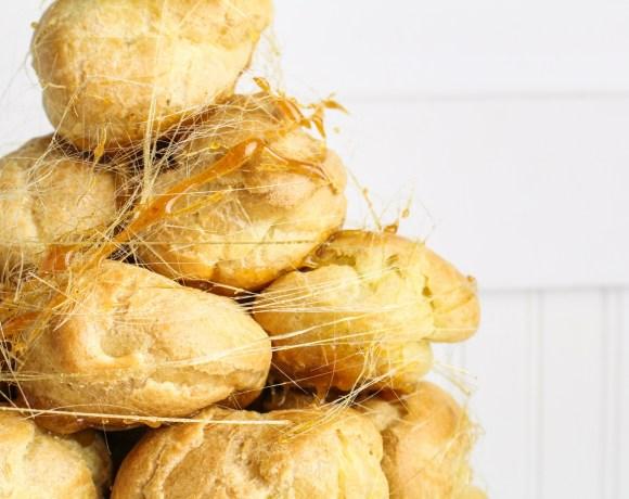 Peanut Butter Croquembouche