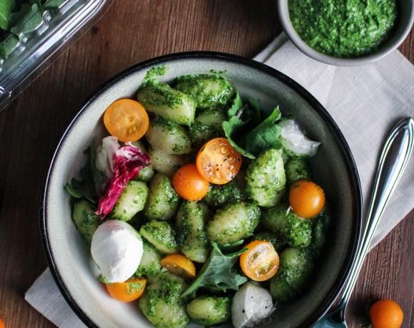 Kale Italia Pesto Gnocchi