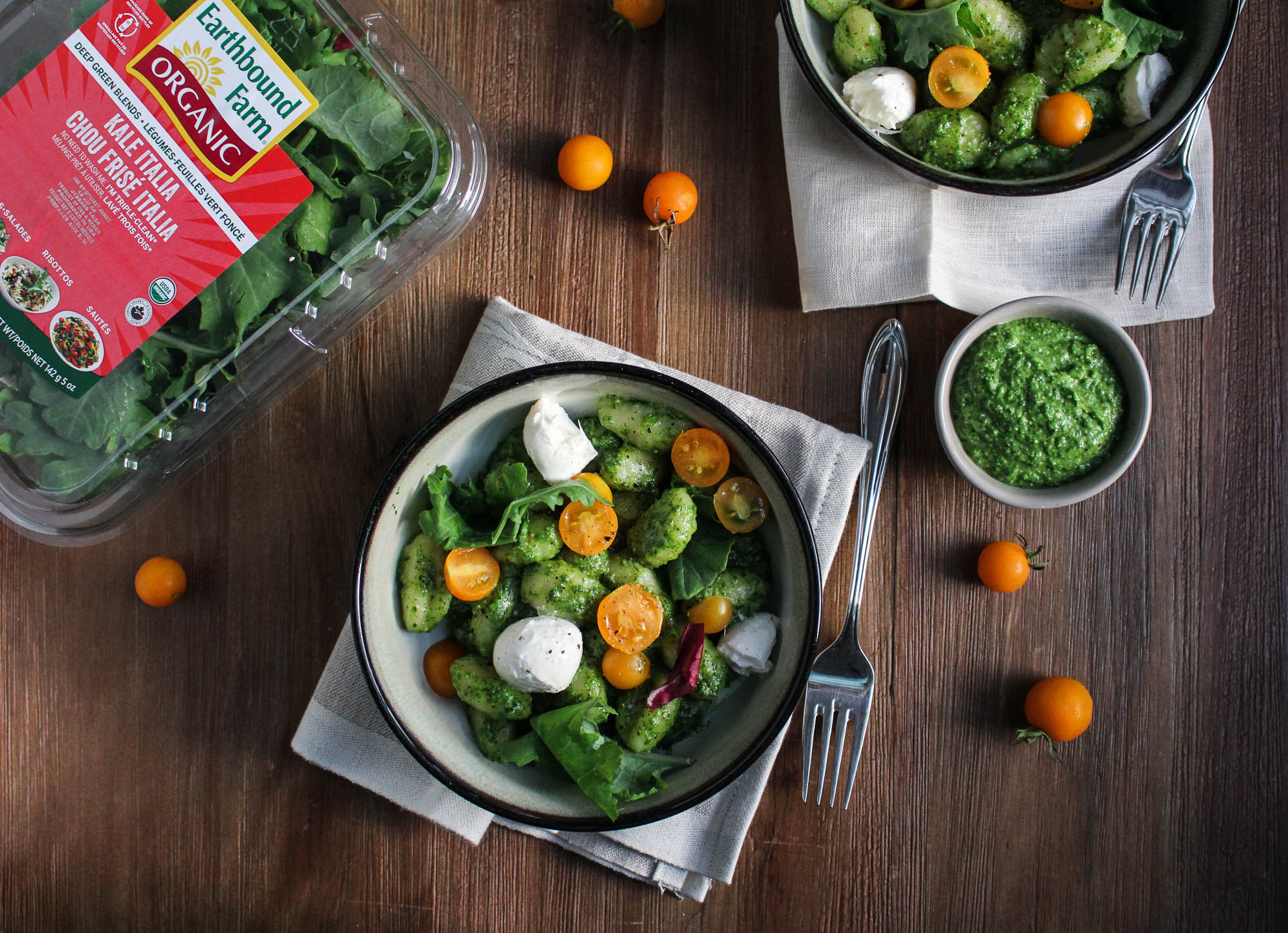 Kale Italia Pesto Gnocchi Katie At The Kitchen Door