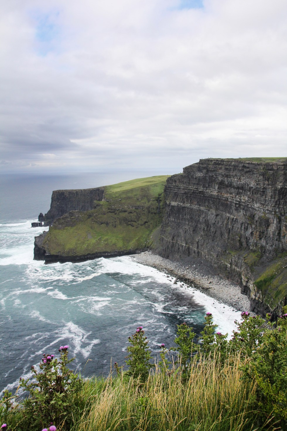 Ireland Travelogue - Cliffs of Moher, Ireland {Katie at the Kitchen Door}