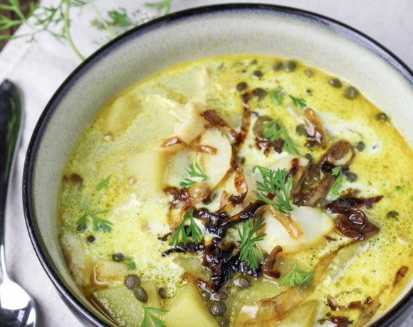 Curried Smoked Whitefish Chowder