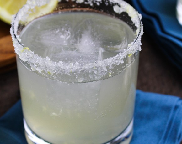 Margarita Week! // Sparkling Lemongrass-Ginger Margaritas