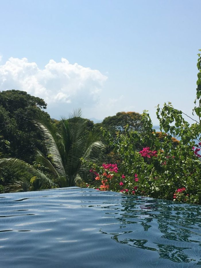 Infinity Pool, Costa Rica {Katie at the Kitchen Door}