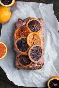 Blood Orange and Olive Oil Pound Cake {Katie at the Kitchen Door}