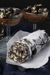 Portuguese Chocolate Salami {Katie at the Kitchen Door}