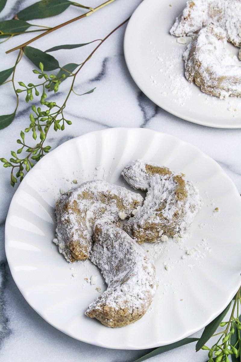 Pecan Crescent Cookies {Katie at the Kitchen Door}