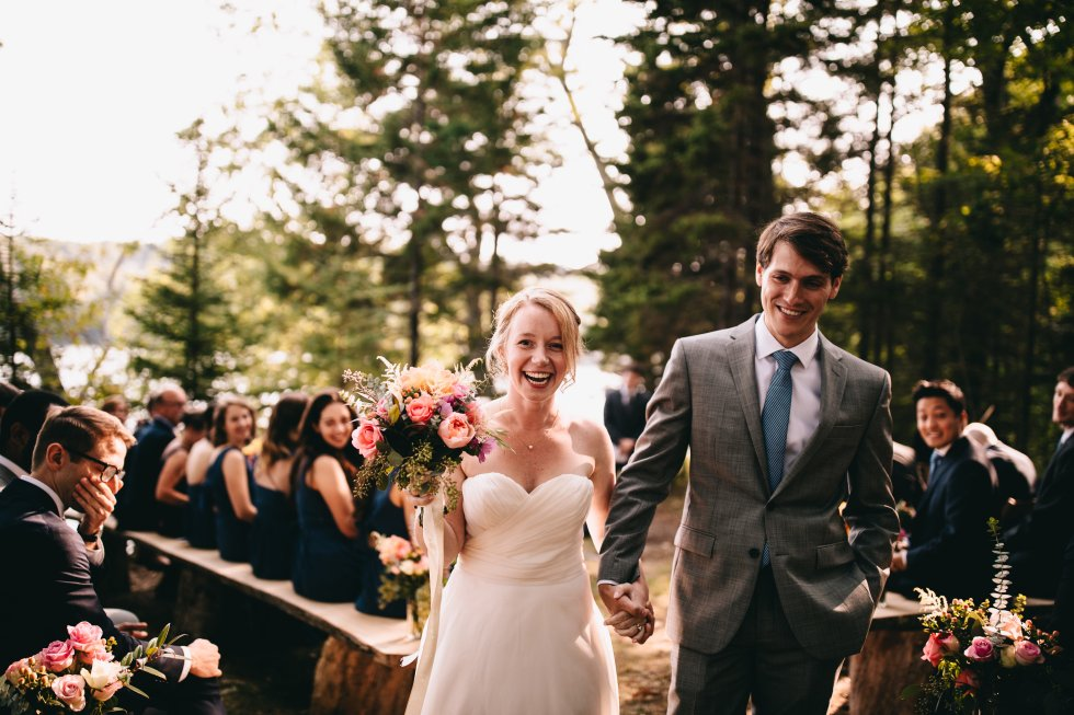 Outdoor Maine Wedding