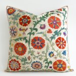 Suzani Pillow Cover Etsy Red Katie Considers