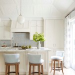 Kitchen Cream Cabinetry Marble Countertops Andrew Howard