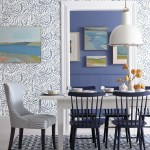 Tucker Navy Blue Dining Chairs Windsor Farmhouse Periwinkle Walls Paint Katie Considers