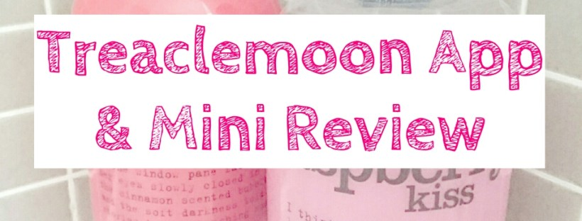 Treaclemoon App and Warm Cinnamon Nights Review