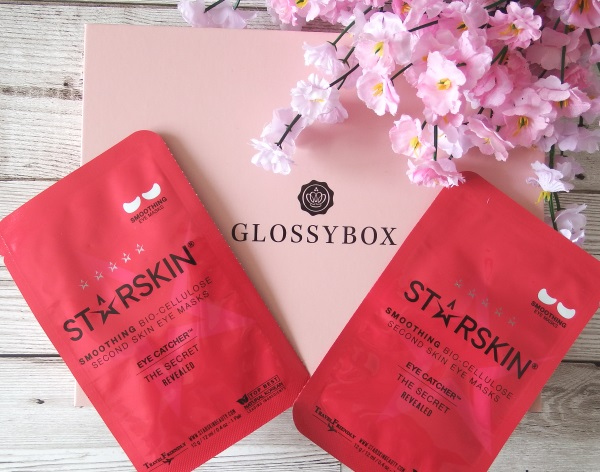 Glossybox June 2016 Review and Unboxing Starskin Eye Catcher Smoothing Bio Cellulose Eye Mask June Glossybox