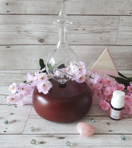 Organic Aromas Essential Oil Diffuser Nebulizing Diffuser Review