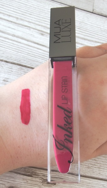MUA Luxe Inked Lip Stain in Sangria Review and Swatches