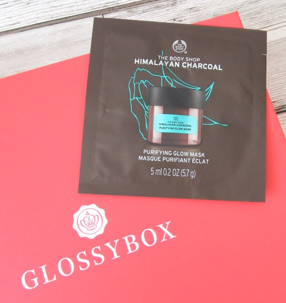 Glossybox September 2016 Review and Unboxing The Body Shop Himalayan Charcoal Purifying Glow Mask