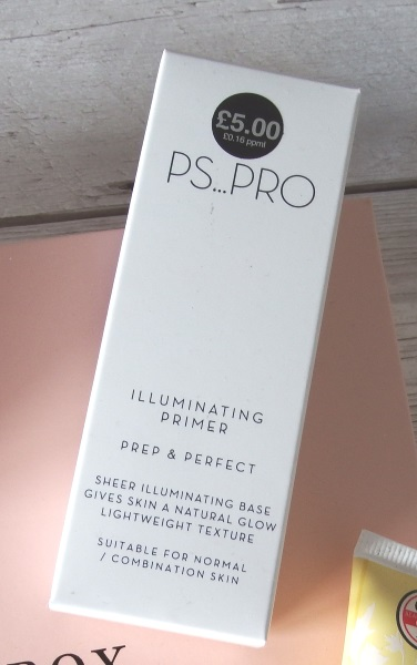 Glossybox October 2016 Review and Unboxing Primark PS Pro Illuminating Primer Reviews Primark Makeup Reviews