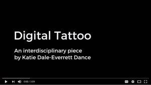 Digital Tattoo Katie Dale Everett Dance