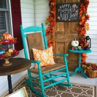 Jewel-Toned Fall Porch
