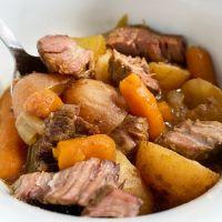 Crock Pot Savory Pot Roast