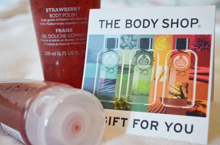Review: The Body Shop Strawberry Body Polish
