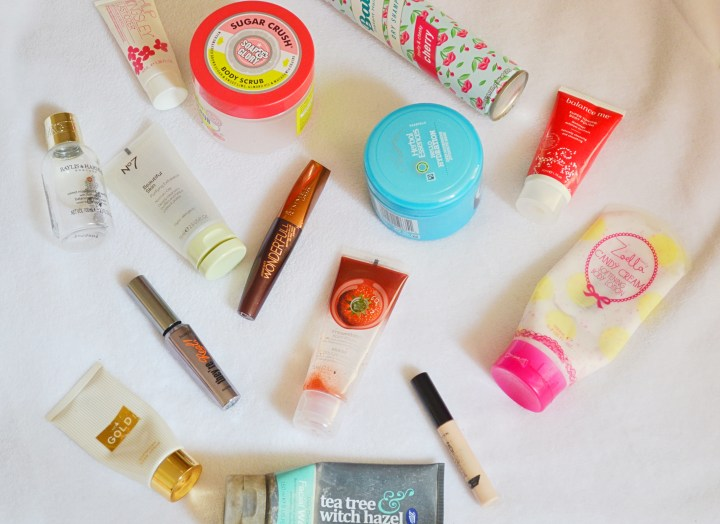 Makeup, Skincare & Haircare Product Empties   Feb 2016