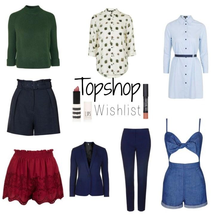 Topshop Wishlist | Spring 2016