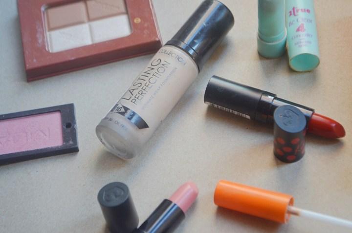 Throwback makeup 1