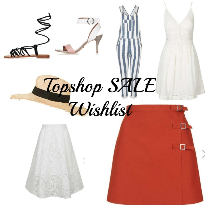 Topshop SALE Wishlist