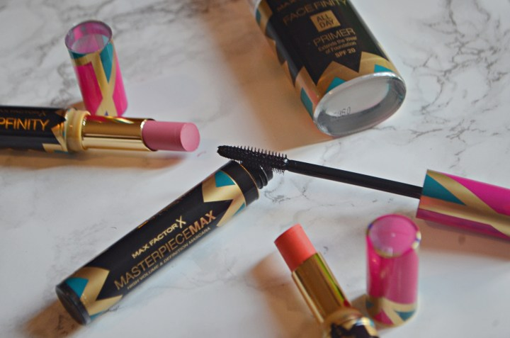 Review | Max Factor Luxe Collection - Primer, Mascara & Lip Finity Lpsticks