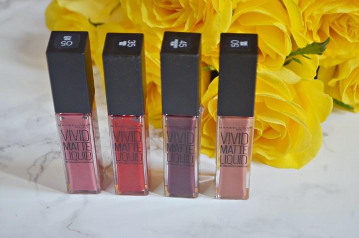 Review | Maybelline Vivid Matte Liquid Lipsticks