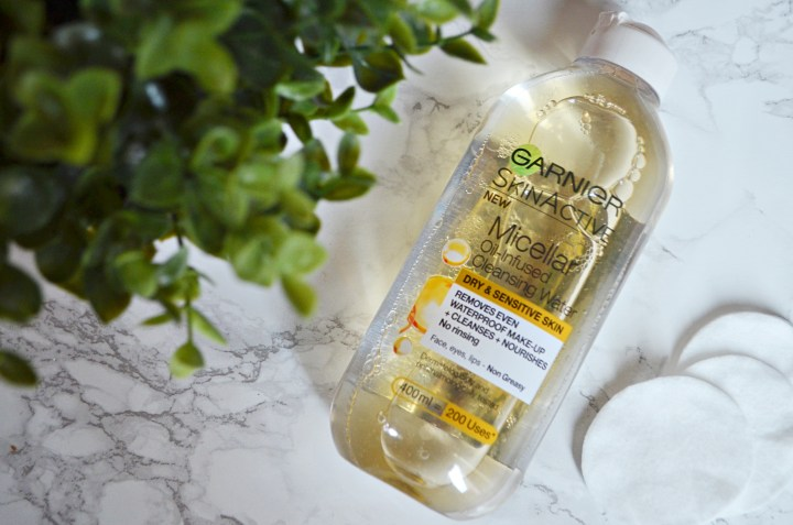 Review | Garnier Skin Active Micellar Water Oil Infused