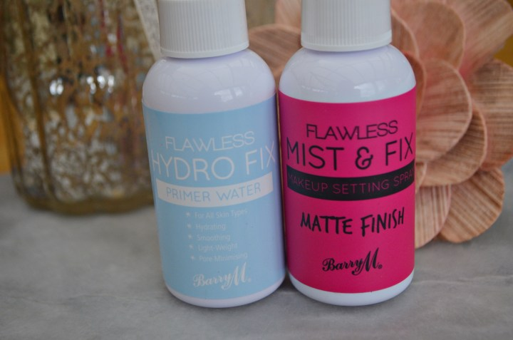 Barry M Fixing & Priming Sprays Review