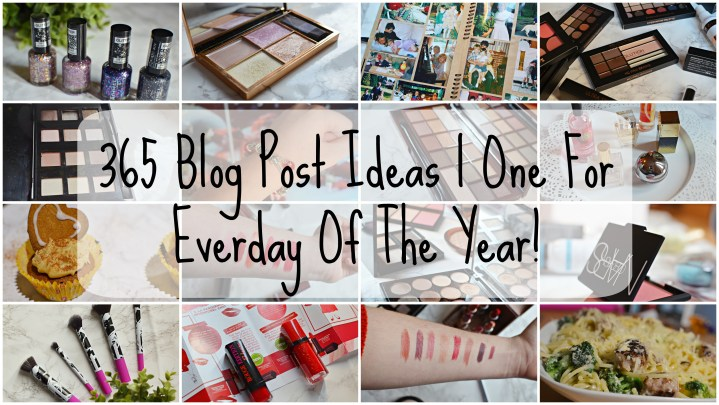365 Blog Posts | One For Everyday of the Year