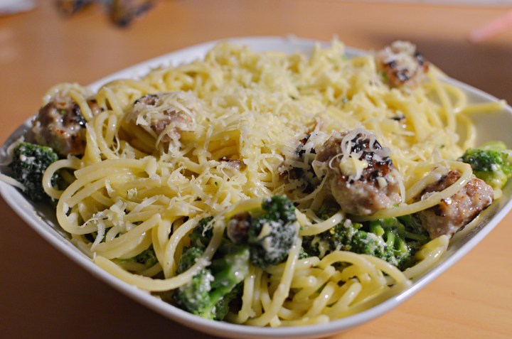 Sausage & Broccoli Pasta Bake
